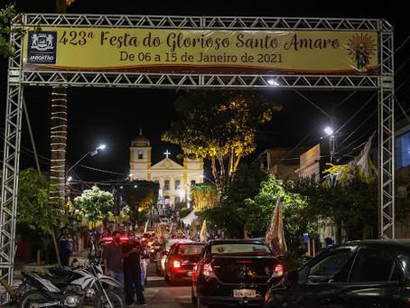 Dom Fernando Saburido celebra missa de encerramento da 423ª Festa de Santo Amaro