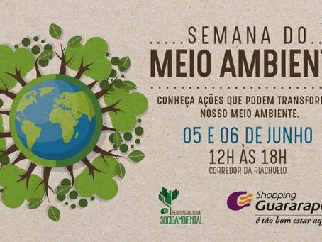 Shopping Guararapes comemora o Dia do Meio ambiente