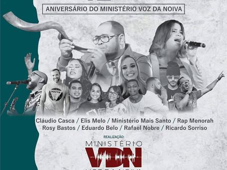 Evento celebra aniversário do Ministério Voz da Noiva