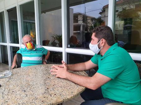 Daniel Alves e Ulisses  dialogam sobre iniciativas para a saúde pública de Jaboatão