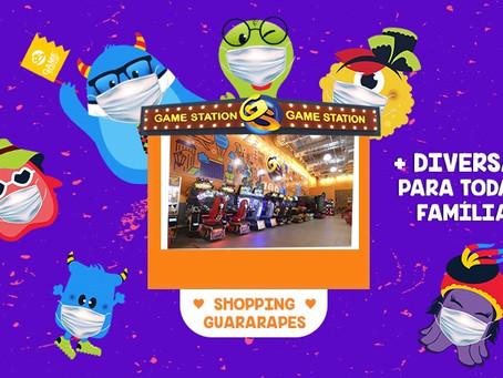 Game Station do Guararapes em horário especial