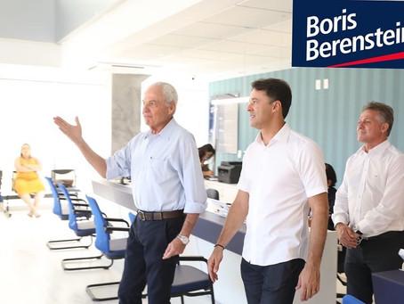 Anderson Ferreira visita a Clínica Boris Berenstein de Piedade