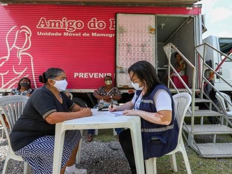 Outubro Rosa: Prefeitura do Jaboatão oferece exames gratuitos de mamografia