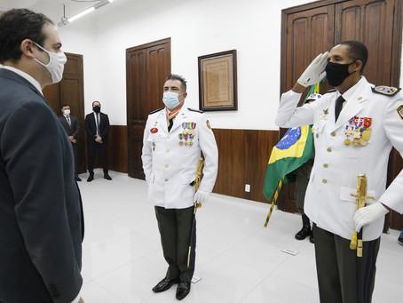 Paulo Câmara empossa novo comandante da Polícia Militar de Pernambuco