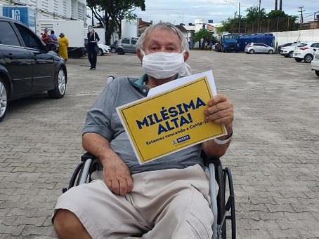 Recife registra mil altas médicas em hospitais de campanha