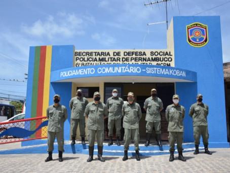 Polícia e comunidade mais próximas em Jaboatão