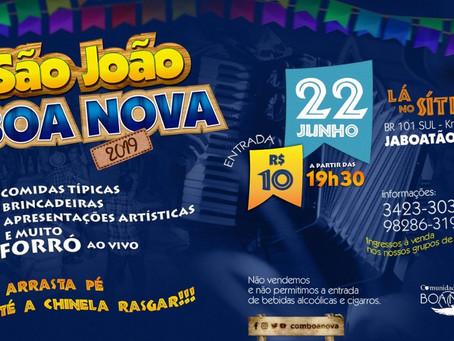 São João da Boa Nova será neste sábado (22)