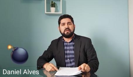 """Vereador Daniel Alves fará vídeo ao vivo e anuncia """"bomba"""" que pode mudar o rumo da política"""
