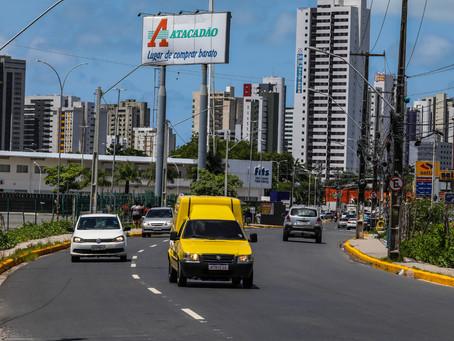 Prefeitura do Jaboatão implanta binário Piedade/Prazeres neste domingo
