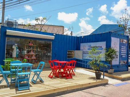 Abertas lojas colaborativas a empreendedores da Economia Solidária em Jaboatão