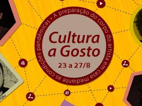 """Confira a programação virtual do """"Cultura a Gosto"""", promovido pelo Sesc Piedade"""