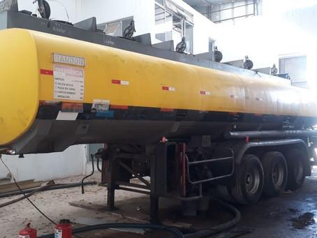 Central clandestina de distribuição de combustíveis roubados é descoberta em Curcurana
