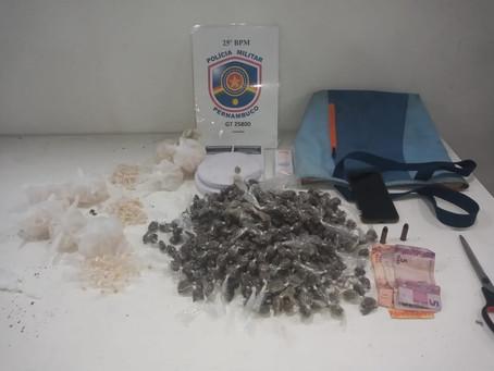 Homem é preso suspeito de tráfico de drogas em Jaboatão
