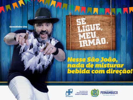 """Detran promove a Campanha Educativa """"Se liga, meu irmão"""""""