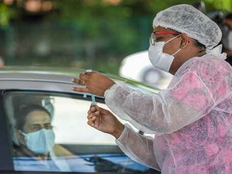 Prefeitura de Jaboatão registra a marca de 53,4%, da população vacinada contra a Covid-19