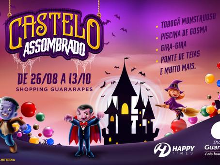 Castelo Assombrado com atividades para a criançada em Jaboatão