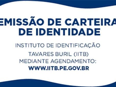 Emissão de carteira de identidade no Guararapes