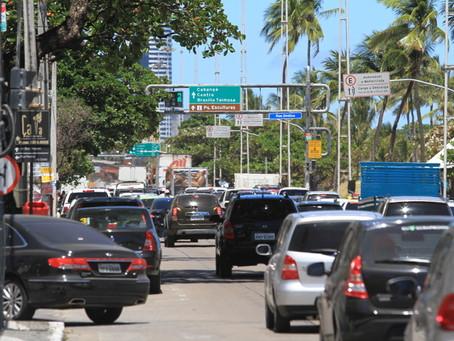 Réveillon: Trânsito modificado na Avenida Boa Viagem