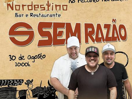Banda Sem Razão relembra sucessos em Barra de Jangada nesta sexta (30)
