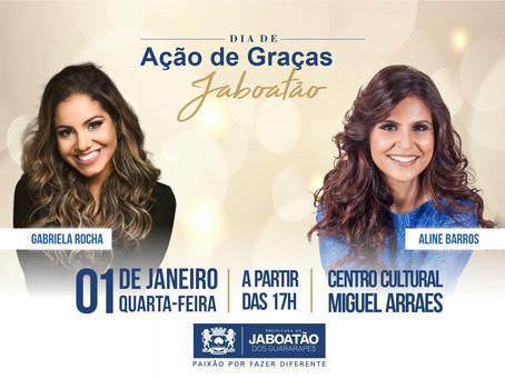 Dia de Ação de Graças com atrações religiosas em Jaboatão
