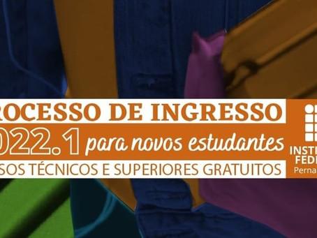 IFPE lança Processo de Ingresso com 4.631 vagas para novos estudantes