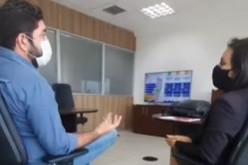 Daniel Alves se reúne com representante da Compesa