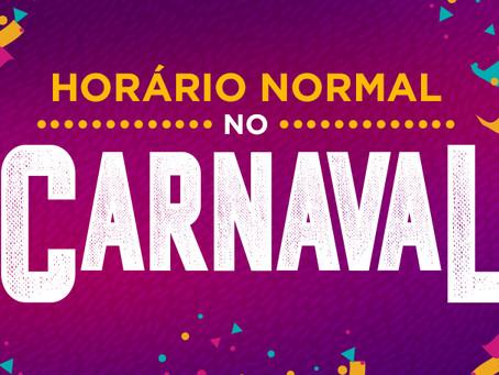 Horário de funcionamento do Carnaval no Guararapes