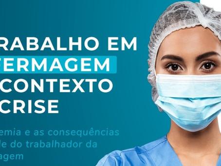 Satenpe promove webnário sobre o trabalho em enfermagem no contexto da crise