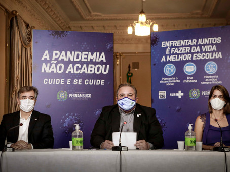 Pernambuco retoma aulas presenciais em todo o Estado de forma gradual