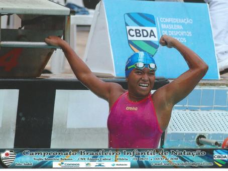 Atleta jaboatanense de natação conquista mais uma medalha