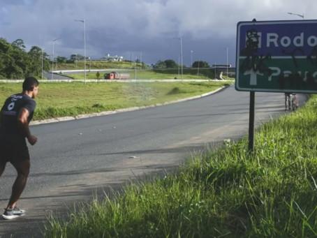 Rodovia vira pista de treino para moradores de Jaboatão