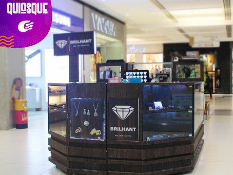 Quiosque da marca Brilhant no Guararapes