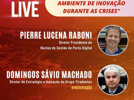 Inovação durante as crises é tema de live nesta quarta