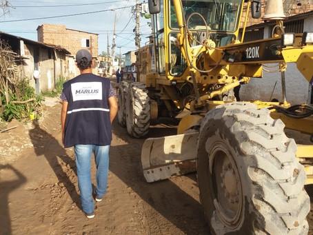 Comunidade Novo Horizonte recebe obras de melhoria na Rua da União