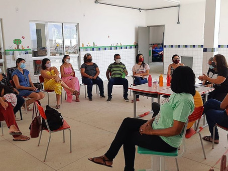 Sinproja realiza visita escolas municipais em Sucupira e Engenho Velho