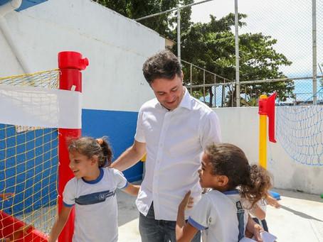 Concluída requalificação de escola municipal em Cajueiro Seco