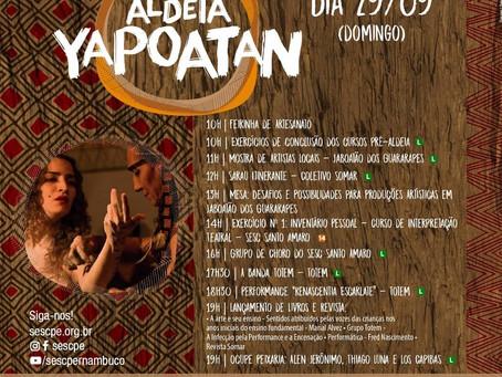 Coletivo Somar lança revista durante programação do Aldeia Yapoatan