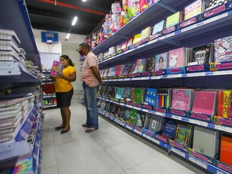 Procon Jaboatão constata variaçã de mais de 1.000% nos preços de material escolar