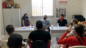 Amicro de Jaboatão promove encontro com representante da Caixa Econômica Federal