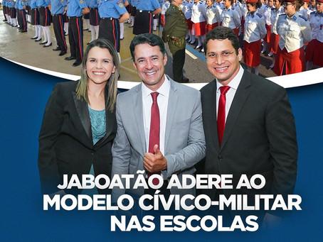 Anderson Ferreira adere modelo cívico-militar nas escolas