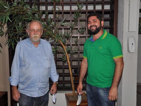 Daniel Alves (MDB) anuncia Ulisses Tenório (PSB) como vice em Jaboatão