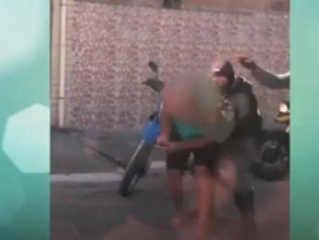 Homem é agredido durante abordagem policial em Jaboatão
