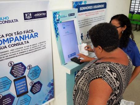 Jaboatão aposta na tecnologia para evitar filas em unidades de saúde