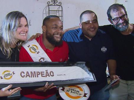 Bar de Jaboatão vence etapa estadual do Comida Di Buteco