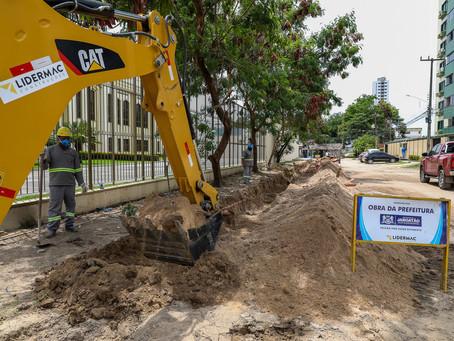 Obra em Jaboatão eliminará esgoto lançado na praia de Candeias