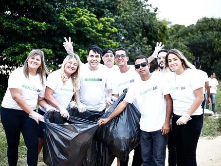 Renova BR promove mutirão de limpeza no Monte dos Guararapes