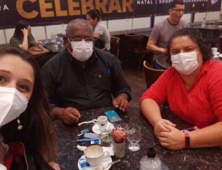 Maíra Vilar se reúne com lideranças do PT de Jaboatão