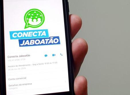 Prefeitura do Jaboatão usa whatsapp para facilitar acesso aos serviços públicos