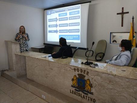 Prefeitura apresenta balanços do 3º quadrimestre de 2020 na Câmara de Vereadores