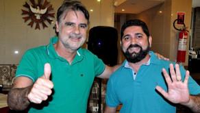 Deputado Raul Henry realiza agenda com Daniel Alves em Jaboatão
